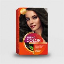 Trend Color Kit Saç Boyası 7.1 Küllü Kumral 50 ml