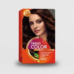 Trend Color Kit Saç Boyası 7.35 Karamel Kumral 50 ml