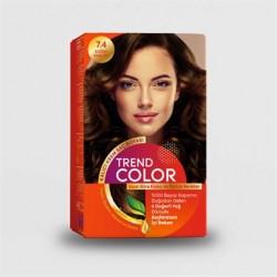 Trend Color Kit Saç Boyası 7.4 Soğan Kabuğu 50 ml
