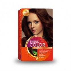 Trend Color Kit Saç Boyası 7.5 Kumral Akaju 50 ml