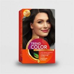 Trend Color Kit Saç Boyası 8.1 Koyu Küllü Sarı 50 ml