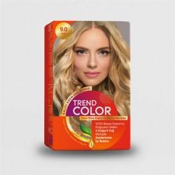 Trend Color Kit Saç Boyası 9.0 Sarı 50 ml