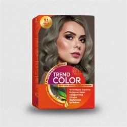 Trend Color Kit Saç Boyası 9.1 Küllü Sarı 50 ml